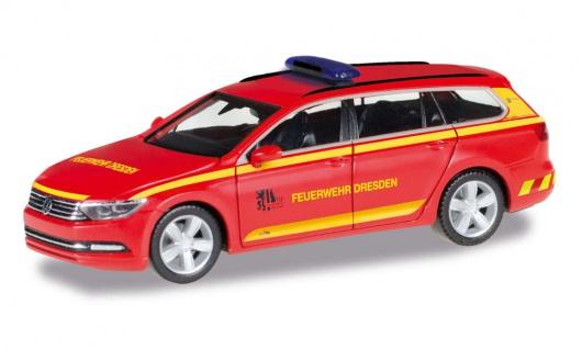 Herpa 095426 Feuerwehr Dresden Kommandowagen