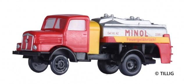 Tillig 19064 LKW H3A Tankwagen MINOL