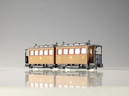 pmt 52414 H0e Personen-Doppelwagen