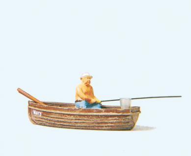 Preiser 28052 Angler im Boot
