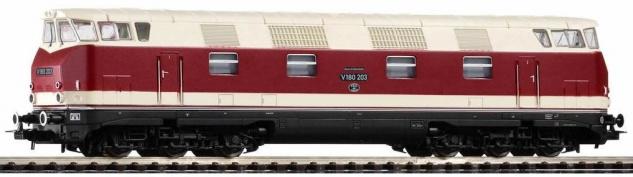 Piko 52574 Diesellok V180 DR mit GFK - Vorschau 1