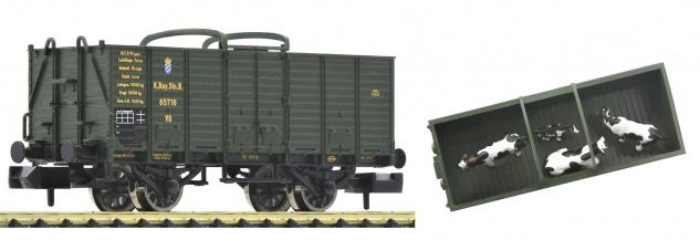 Fleischmann 826003 Viehtransportwagen