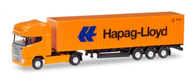 Herpa 066723 Scania Sattelzug Hapag-Lloyd