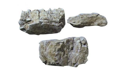 Woodland C1234 Gießform größere Felsen