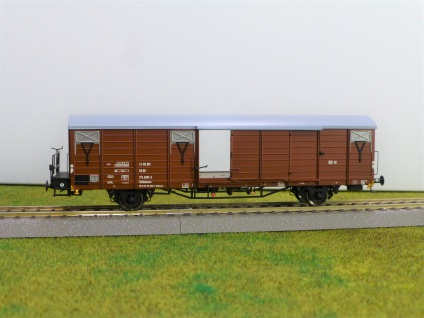 Exact Train EX20474 Güterwagen der DR