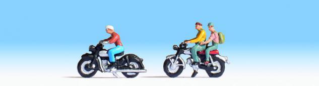 Noch 36904 Motorradfahrer