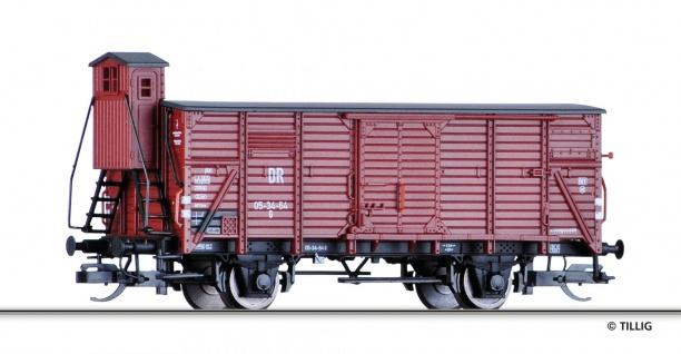 Tillig 17350 Gedeckter Güterwagen der DR