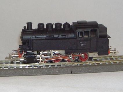 Zeuke Dampflok BR 81 DR