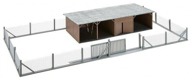 Faller 120256 Wertstoffhof, Containerpark