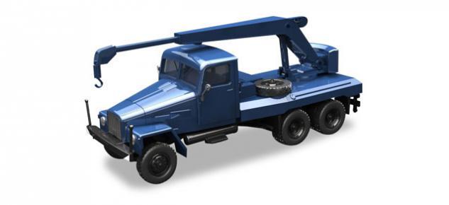 Herpa 308106 IFA G5 Kranfahrzeug
