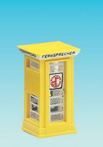 Brawa 4569 Telefonzelle FH32