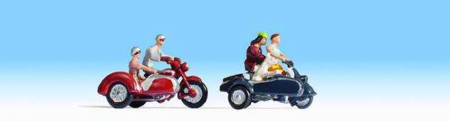 Noch 45905 Motorradfahrer