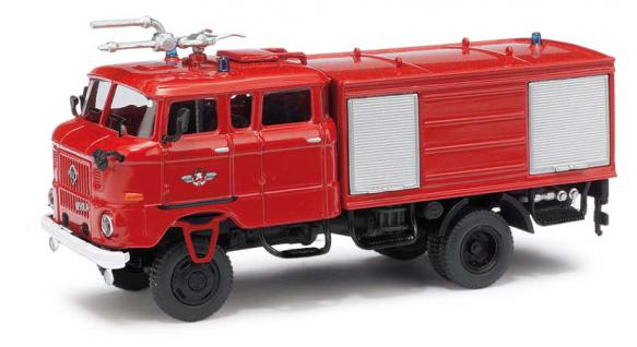 Busch 95233 Ifa W50 Gmk Feuerwehr - Vorschau 1