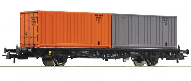 Roco 76787 Containertragwagen