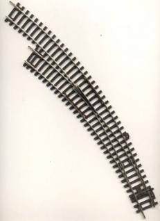 Piko 55227 Bogenweiche R3 links