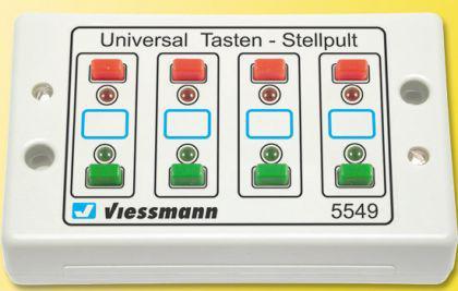 Viessmann 5549 Stellpult mit Rückmeldung