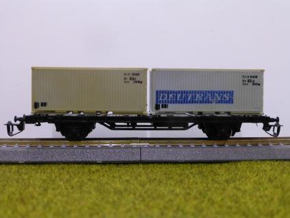 BTTB 4520 Plattformwagen mit Container