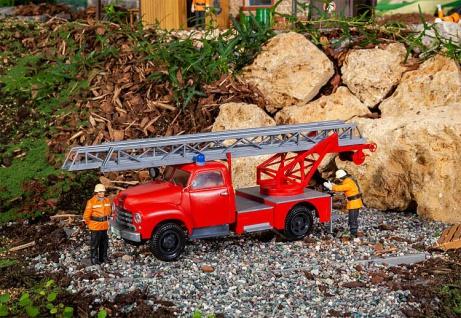 Pola 331614 Opel Blitz Feuerwehr Drehleiter