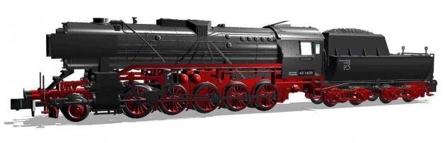 Arnold HN2335S Dampflok BR 42 DR Sound