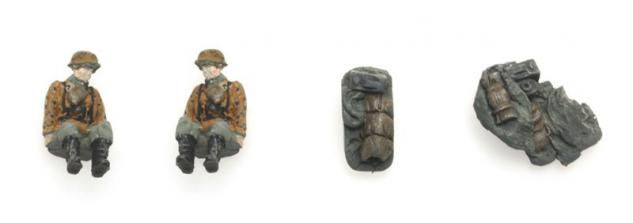 Artitec 387252 Figuren für Kettenkrad