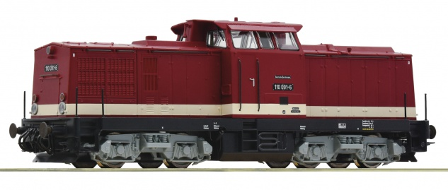Roco 70809 Diesellok BR 110 der DR