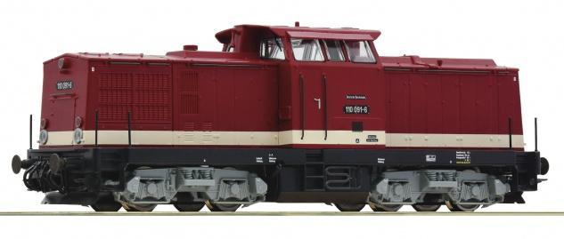 Roco 70810 Diesellok BR 110 DR mit Sound
