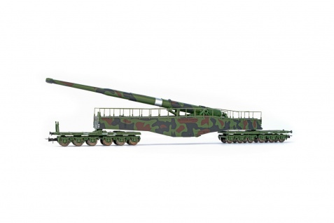 Rivarossi HR6451 Eisenbahngeschütz K5
