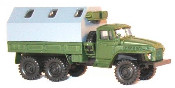 Hädl 124102 Ural 375D mit Planenkoffer