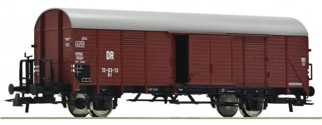 Roco 76308 Gedeckter Güterwagen der DR
