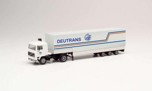 Herpa 312127 Volvo F12 Sattelzug Deutrans