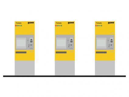 Rietze 70300 Fahrkartenautomat DVB