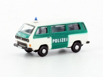 Lemke Minis LC4308 VW T3 Polizei Bus - Vorschau 1