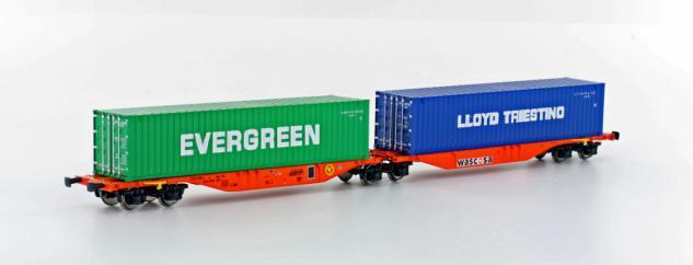 Hobbytrain H70502 Containertragwagen - Vorschau 1