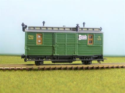 pmt 53201 H0e Gepäckwagen K.sächs.Sts.E.B.
