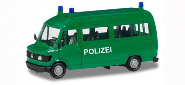 herpa 094139 mercedes benz t1 bus polizei kaufen bei der. Black Bedroom Furniture Sets. Home Design Ideas