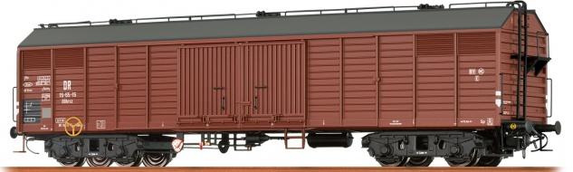 Brawa 48395 Gedeckter Güterwagen der DR
