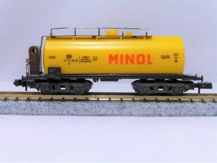 DDR-Piko 5/4147-016 Kesselwagen MINOL