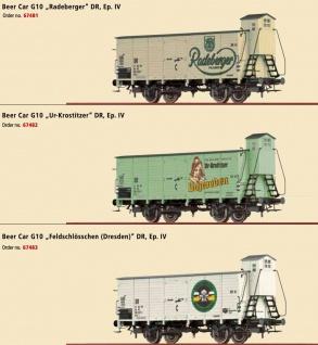 Brawa 69004 Bierwagen G10 der DR