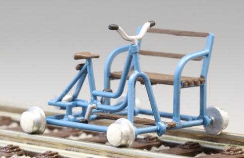 Kres 22200 Bausatz für Schienenfahrräder - Vorschau 1