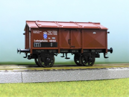 Fleischmann 5864 Klappdeckelwagen