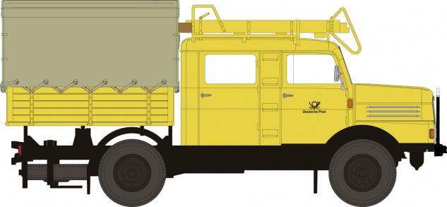 Brekina 71751 IFA S 4000-1 Bautruppwagen