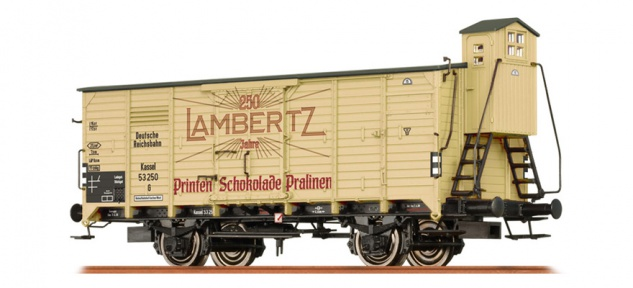 Brawa 67489 Güterwagen Lambertz DRG
