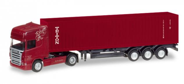 Herpa 066662 Scania Container-Sattelzug