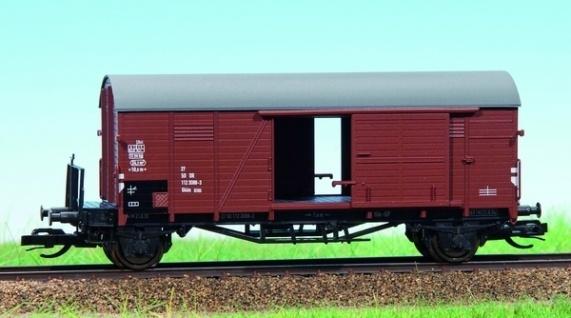 Hädl 113604 Gedeckter Güterwagen der DR