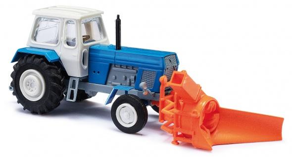 Busch 8697 Traktor ZT 300 mit Schneefräse