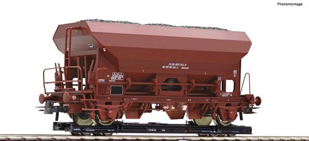 Roco 34574 H0e Rollwagen und Güterwagen