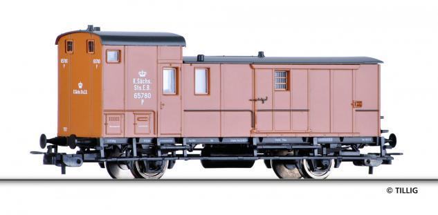Tillig 76692 Güterzugpackwagen