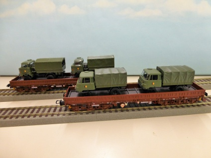 NPE Modellbau NW 22090 Schwerlastwagen - Vorschau 1