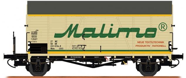 Brawa 47976 Gedeckter Güterwagen Malimo
