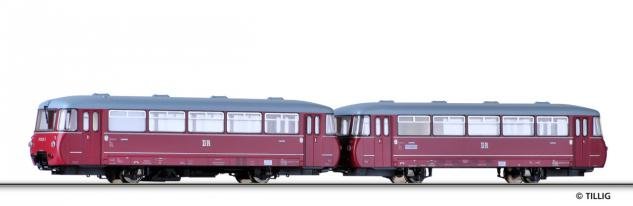 Tillig 73141 Triebwagen BR 171 mit Beiwagen